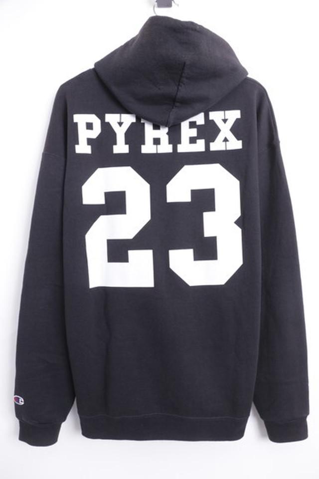 PYREX VISION × CHAMPION RELIGION HOODIE BLACK XL 115JH8200