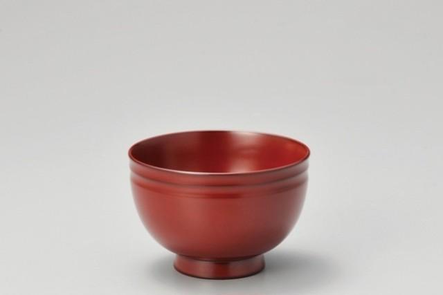 鈴型椀 古代朱