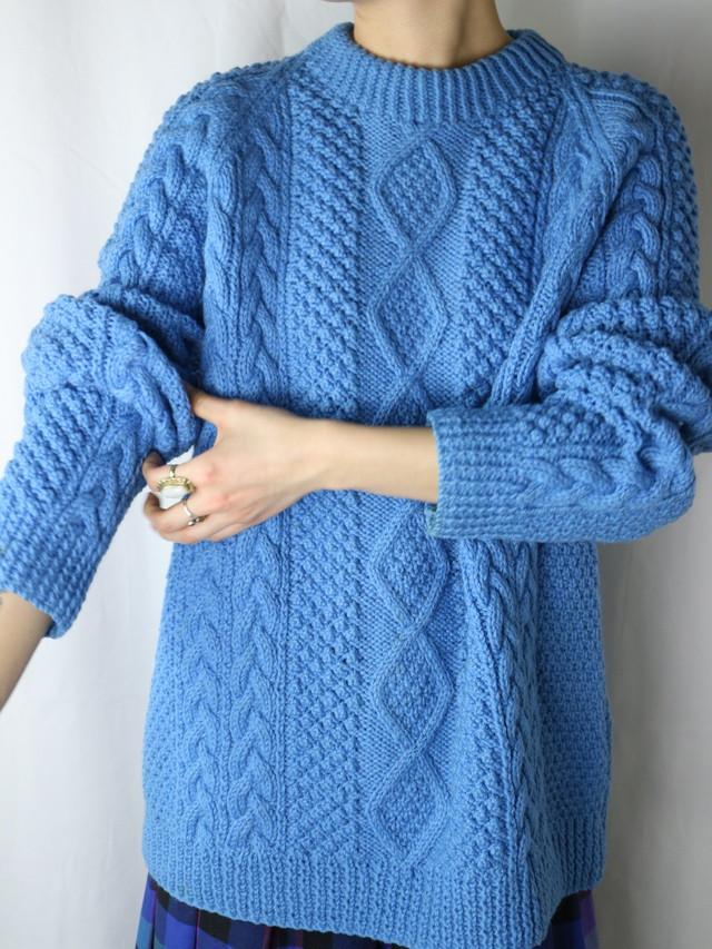 fisherman sweater【5402】