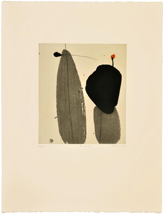 周豪 ZHOU Hao /etching No.174-f フレーム付き