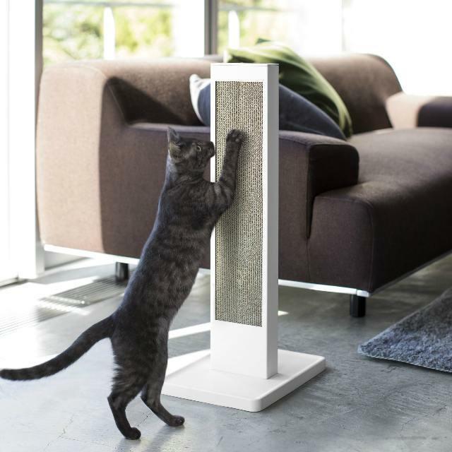 猫の爪とぎケース タワー YM-M18-061 tower 山崎実業 yamazaki