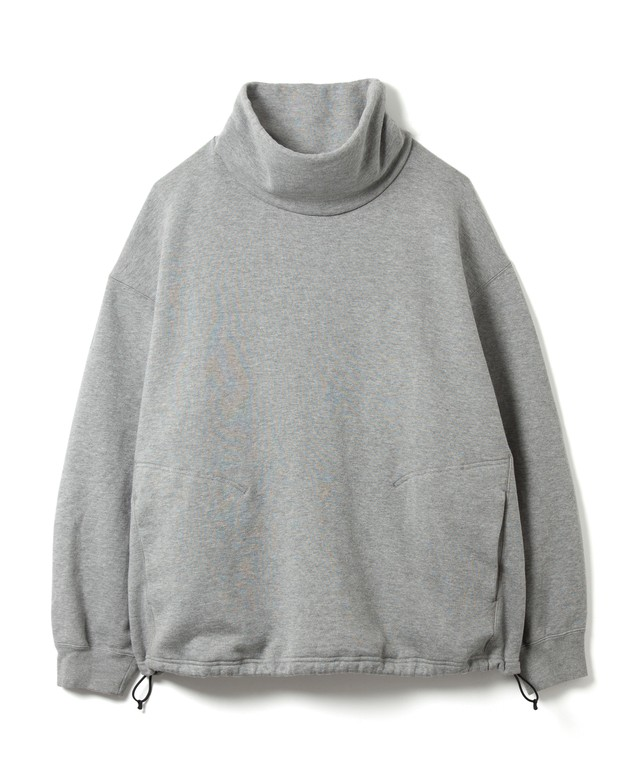 【SANDINISTA】Turtleneck Sweatshirt(GRAY)