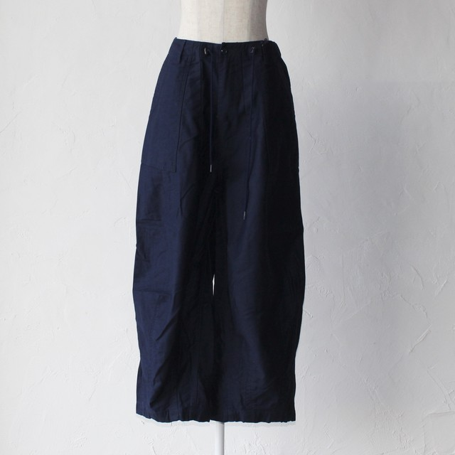 【Needles】H.D.pant fatigue-navy