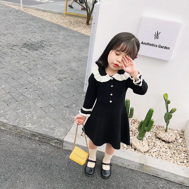 【スカート】超人気レディース上質フリル子供服女の子ワンピース24835084