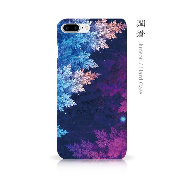 潤蒼 - 和風 iPhoneケース