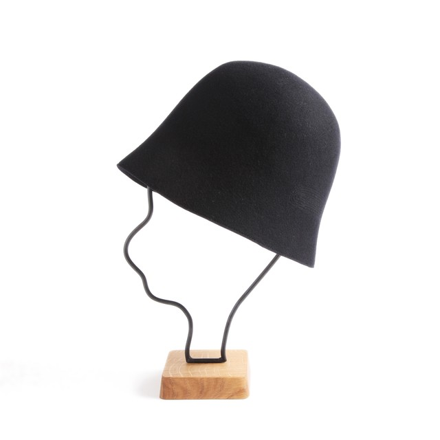 mature ha./free hat back stitch dark navy