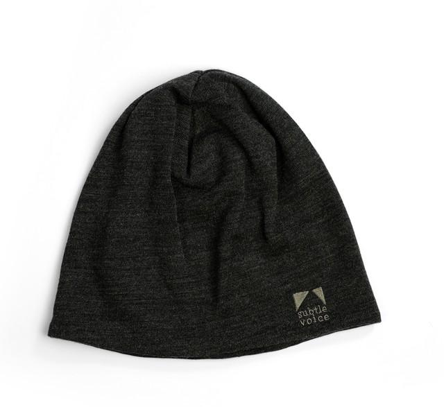 SV Wool Snug Beanie [Charcoal Grey]