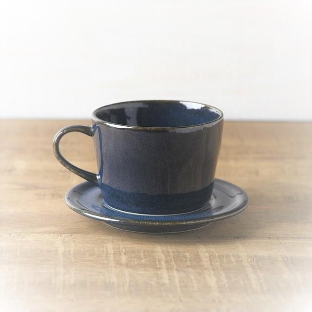 美濃焼 北欧ブルーカップ&ソーサー