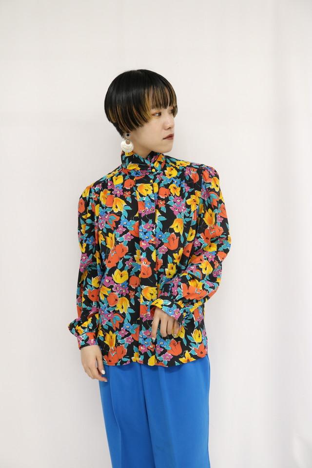 flower blouse / 4SSTP25-07