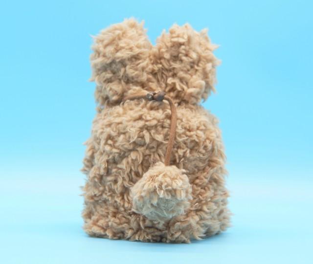 ふわもこカバー 4寸【選べる4色】小型犬〜中型犬・猫