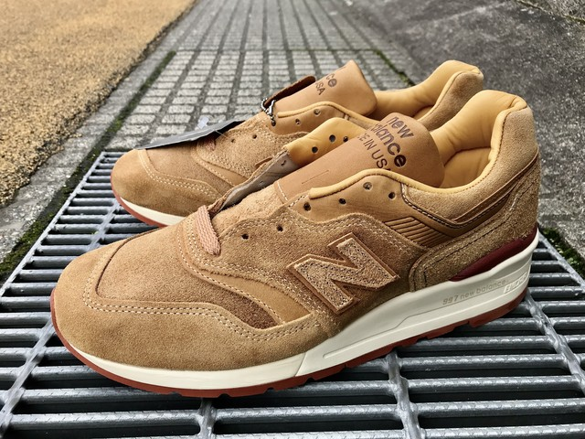 NEW BALANCE x RED WING M997RW (BROWN)
