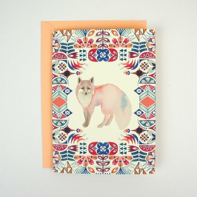 Greeting Card - Novella Fox