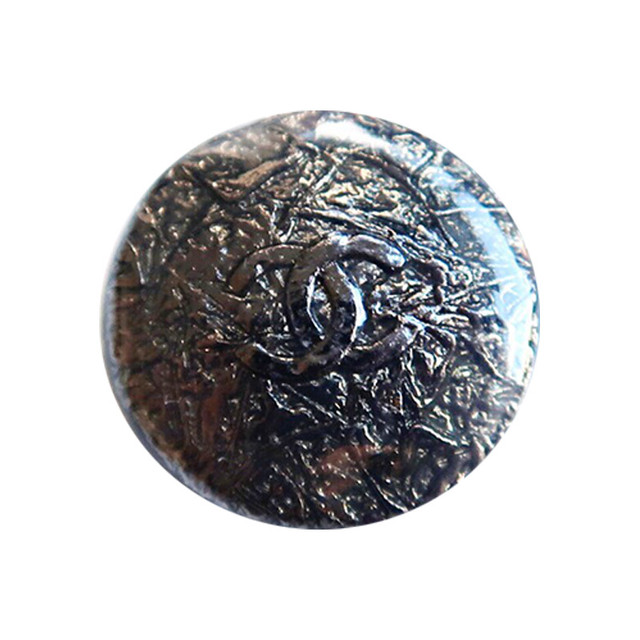 【VINTAGE CHANEL BUTTON】ブラック ココマーク ボタン 22mm C-19124