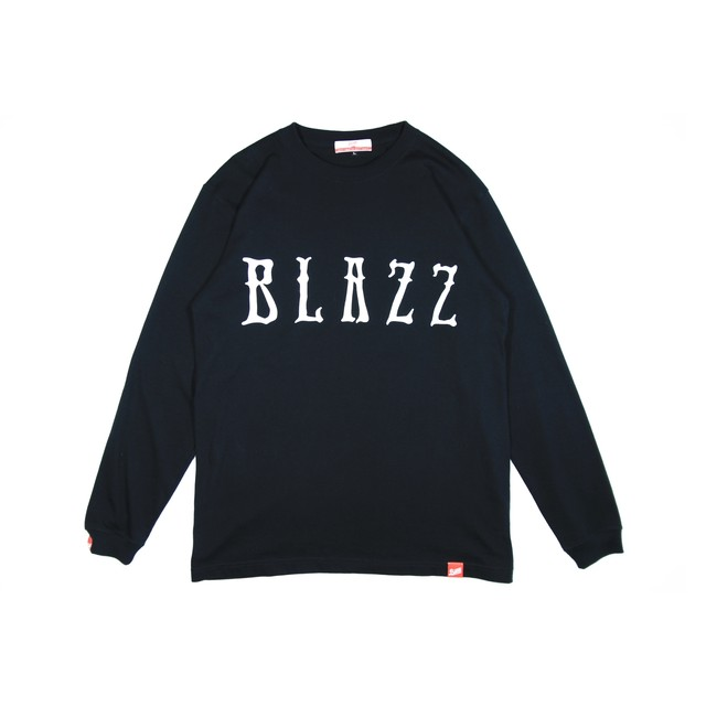 Euro Blazz BIG LOGO L/S TEE [BLACK]