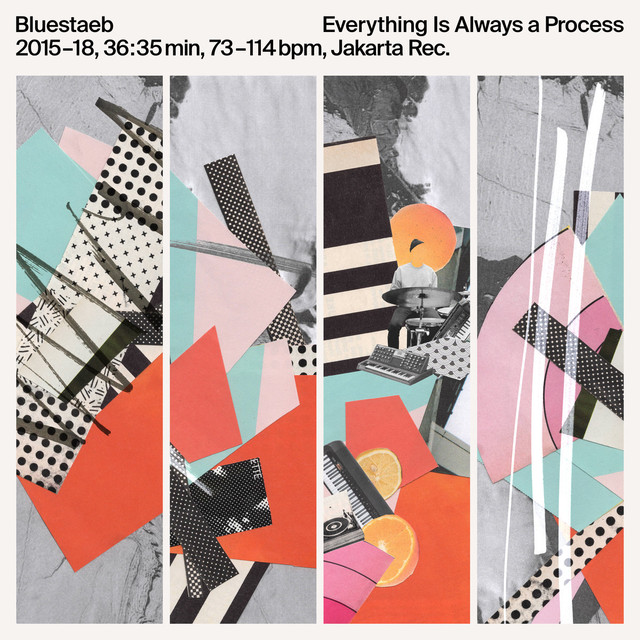 【ラスト1/LP】Bluestaeb - Everything Is Always A Process