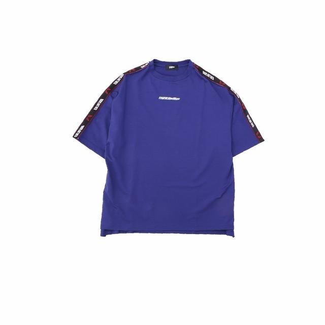 【10%OFF】MYne × BADBOY T-shirt / BLUE - メイン画像