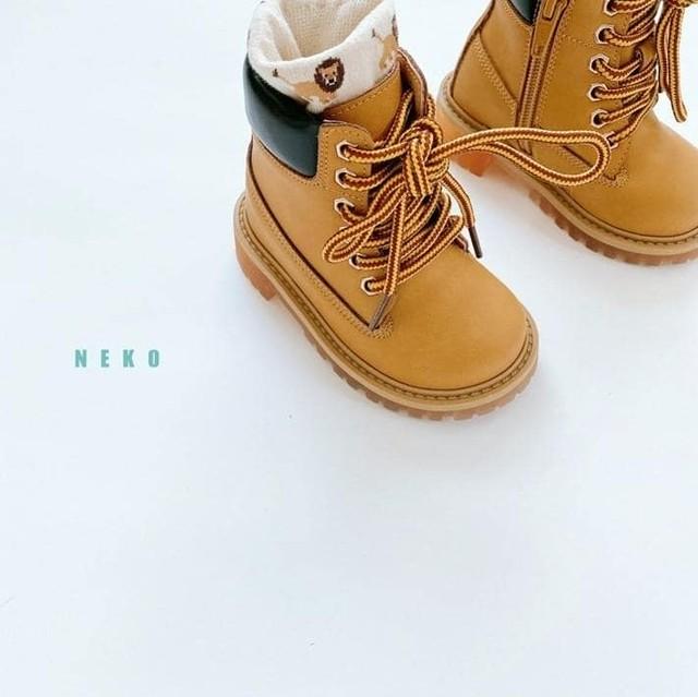 «予約» outdoor boots 2colors キッズブーツ