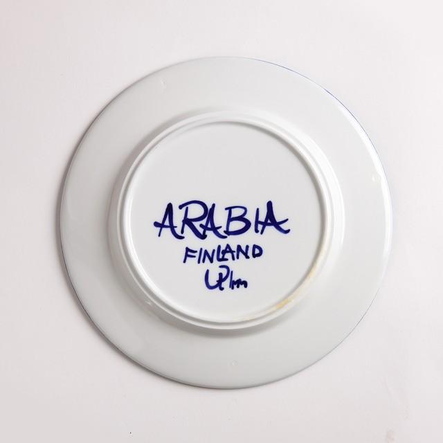 ARABIA アラビア Valencia バレンシア 195mm皿 - 1 北欧ヴィンテージ