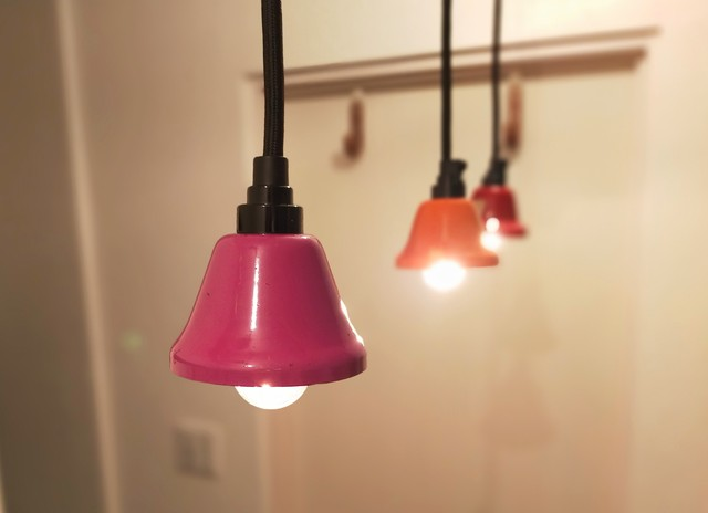 Pendant Light「Music Bell」Orange