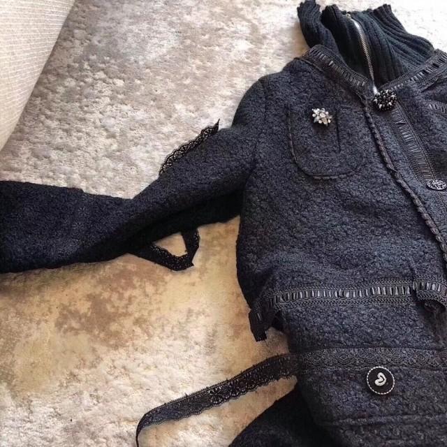 ココハンドジュエリージップアップコート コート ジャケット 韓国ファッション