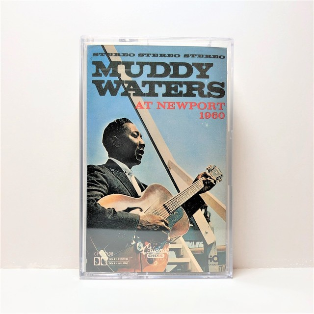 [中古カセット]  Muddy Waters ‎– Muddy Waters At Newport 1960