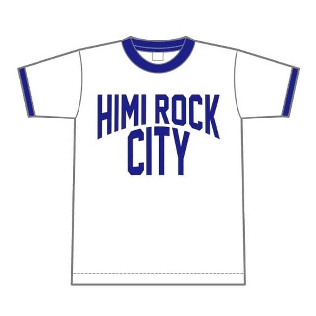 HIMI ROCK CITY リンガーTシャツ【氷見市】