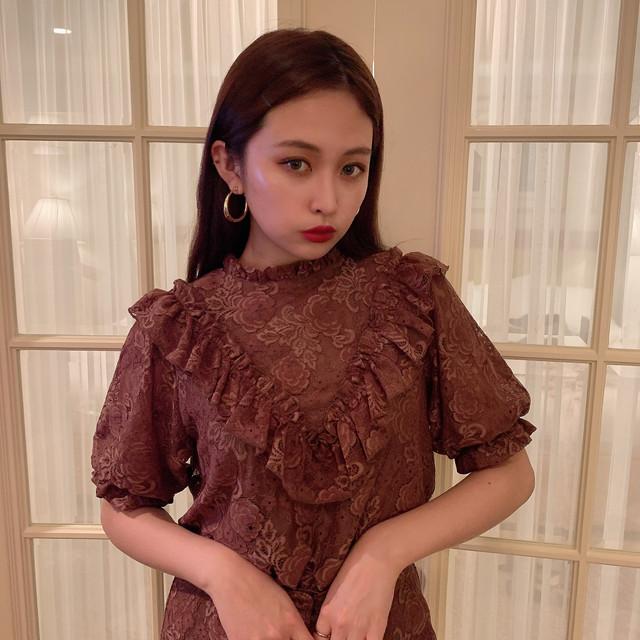 【Désir original】 lace blouse