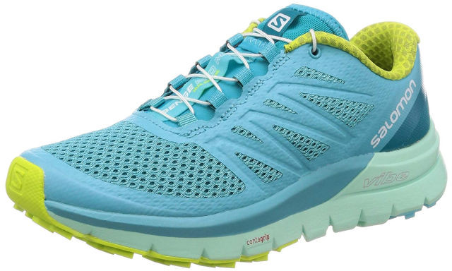 【SALOMON】 SENSE PRO MAX W(Blue Curacao/Beach Glass/Acid Lime) (ブルーキュラソー)