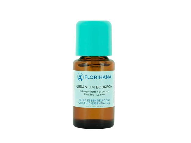【Florihana】ゼラニウムブルボンオーガニック 5g(精油<エッセンシャルオイル>)