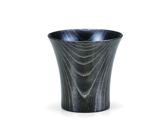 SX-0586 欅カップ ブラック/プラチナ