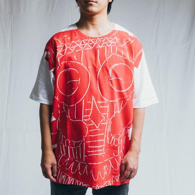 TYPICAL FREAKS - Mask tshirt(特注) - TFMEN1-35,36