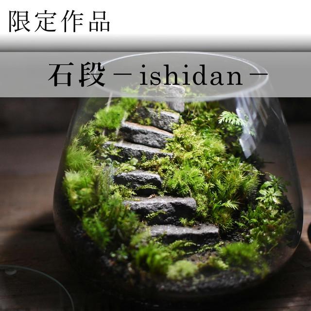 作品名− 石段のある苔テラリウム −【苔テラリウム・現物限定販売】