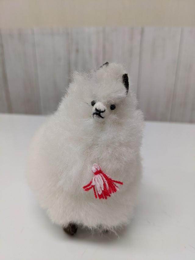 アルパカ純毛人形