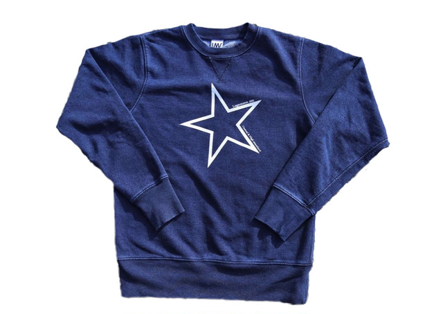 【big star sweat】/ indigo