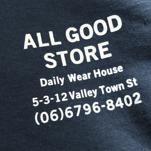 ALL GOOD STORE / Store Logo Long Sleeve