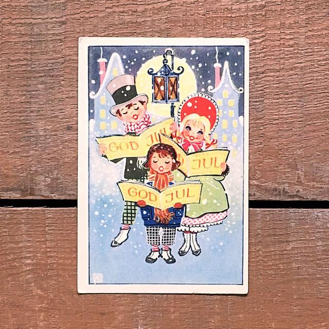 ミニ・クリスマスカード「Astrid Österling(アストリッド・オステリング)」《201211-02》