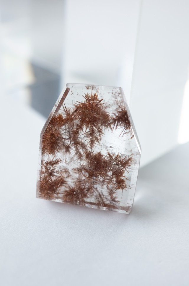 Brown Rutilated Quartz - 008