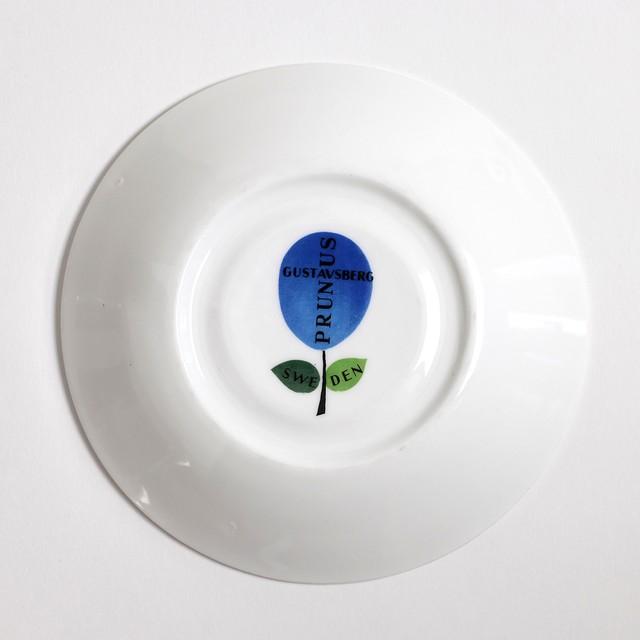 Gustavsberg グスタフスベリ Prunus プルーヌス コーヒーカップ&ソーサー -3 北欧ヴィンテージ
