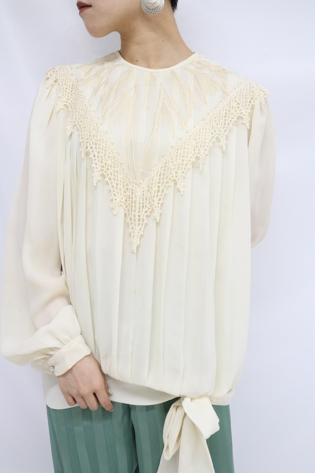 pleats blouse / 5SSTP09-23