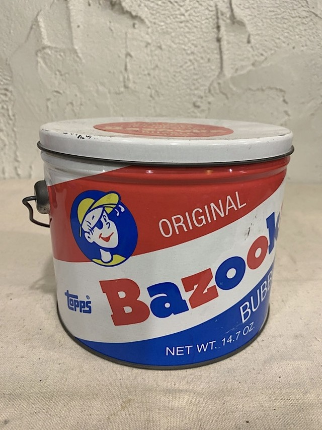 "TIN CANS "" BAZOOKA BUBBLE GUM """