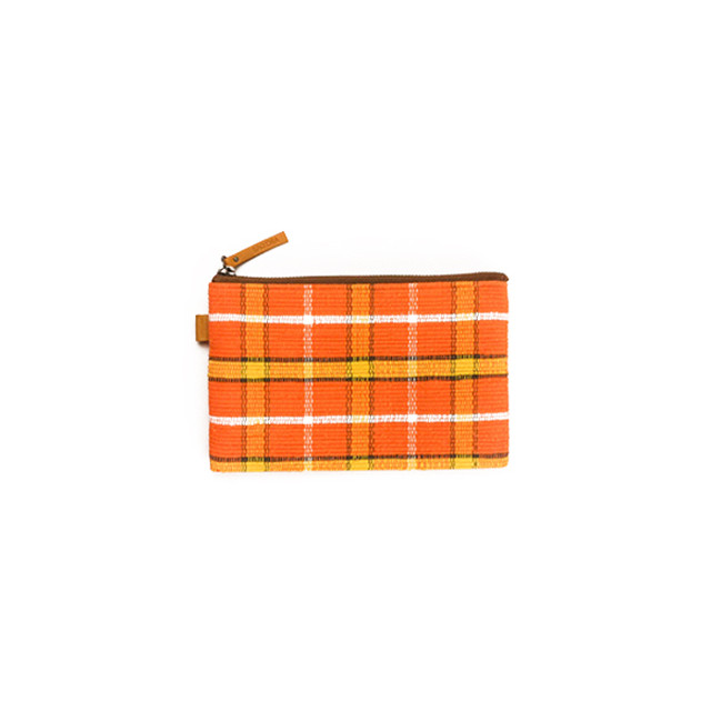 POUCHI SMALL Half / Orange × Yellow : 2110100100208
