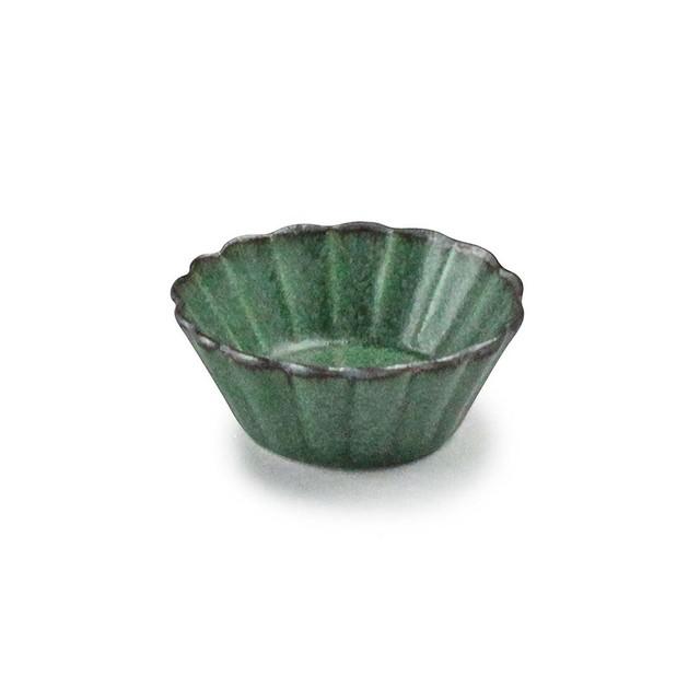 「翠 Sui」しょうゆ皿 花豆鉢 直径6cm まつば 美濃焼 288217