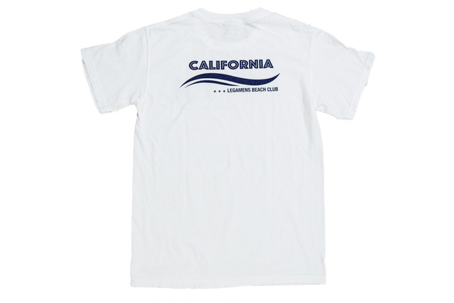【wave california T-shirt】/ white