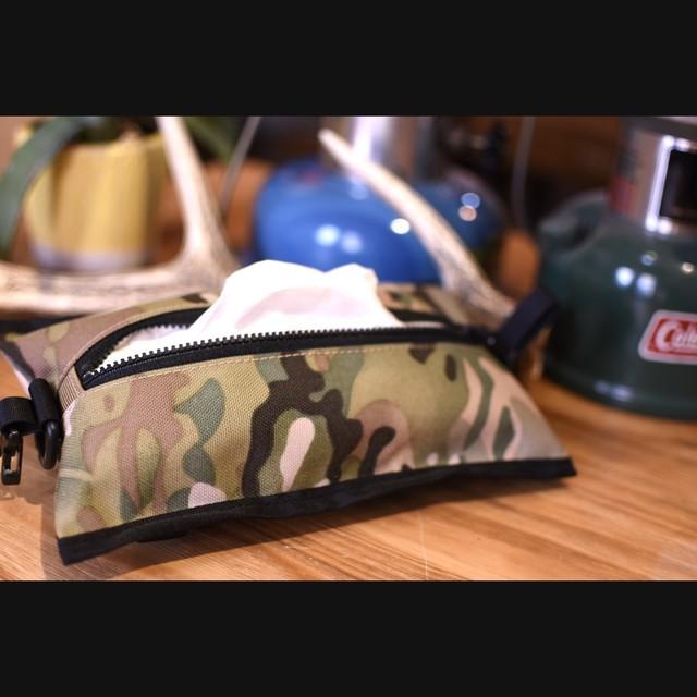 【Aplysia CAMP】帆布のギアポーチ
