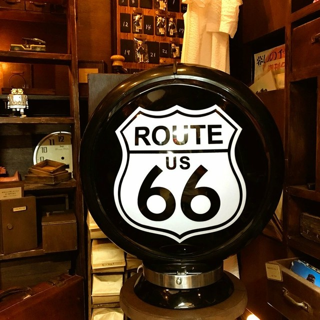 ガスランプ ライト ROUTE 66 ルート らんぷ route66