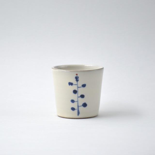 コバルト釉しのぎフリーカップ