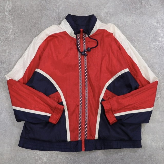 vintage switching nylon blouson