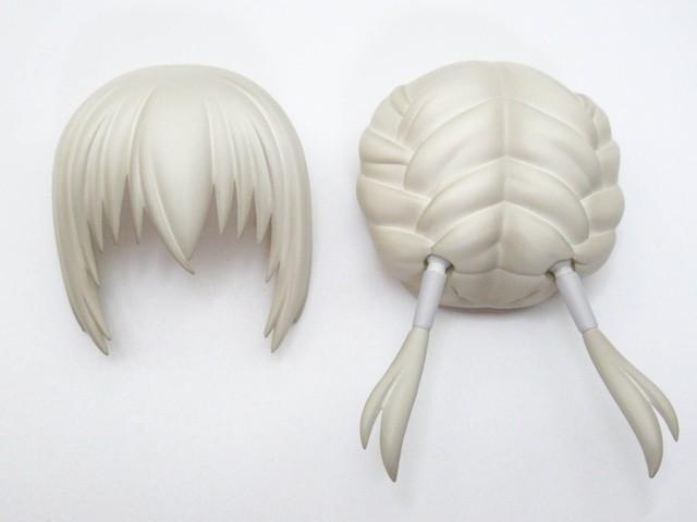 【1469】 ベディヴィエール 髪パーツ おさげ ねんどろいど
