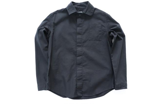 LOLO 【ロロ】比翼シャツ ブラック