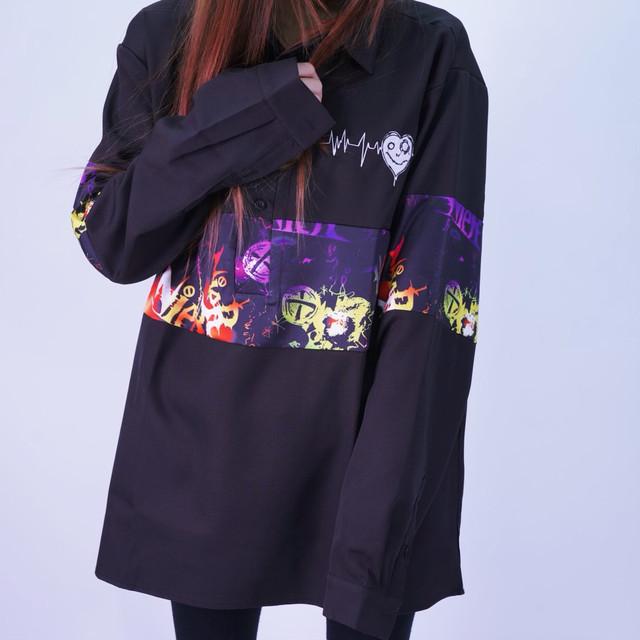 Xmasイベント商品第5弾【ブロッキングプルオーバーシャツ】